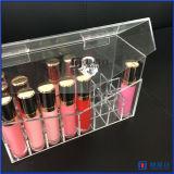 Container 24 van de Schoonheid van de Opslag van de make-up Ruimte Met de hand gemaakte Doos met Deksel