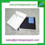Steifer Papiergeschenk-Kasten-Papier-Darstellungs-Kasten mit EVA-Einlage