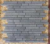 Alta calidad de la madera afilado con piedra de mármol blanco pulido mosaico