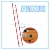 まっすぐな鋼鉄またはアルミニウムまたはアルミニウム足場のステップ梯子