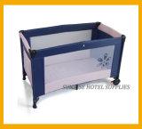 안전 호텔을%s Foldable 아기 간이 침대 아기 어린이 침대