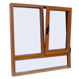 Qualitäts-buntes Aluminiumprofil-inneres Neigung-u. Drehung-Fenster Kz240