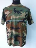 Jogo do roupa interior dos militares camuflar da floresta