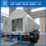 半低温液化ガスの交通機関のトレーラーの記憶のタンカー