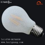 A55 우유 백색 모양 LED 필라멘트 전구 에너지 절약 전구