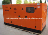 Schalldichter 100kVA Yuchai elektrischer Dieselgenerator des Fabrik-Preis-