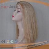 Hoogste Pruik van de Zijde van het Haar van de Kleur van de Blonde van het Menselijke Haar van 100% de Braziliaanse