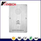 Analog / IP Poe Phone Flush / Wall Mounting Knzd-09 Telefone de elevador