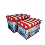 Tamborete do armazenamento da série do projeto do barramento dos miúdos com capacidade de peso 80kg