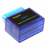 Elm327 Bluetoooth OBD2車のDignosticのツールのスキャンナーVersion1.5の青