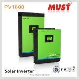 onda de seno pura del inversor solar híbrido 3000va DC24V 3kVA