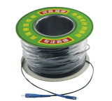 Câbles fibre optiques prêts à l'emploi de faisceau du mode unitaire 1 avec le connecteur de Sc