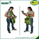 Onlylifeの新しいデザインハンドルが付いている携帯用庭袋の無駄袋