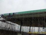 Al-Mg-Mn panel de acero estructura de chasis Toll Diseño Estación