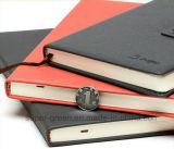 Venda por atacado de couro do caderno do plutônio da alta qualidade A5