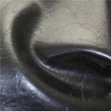 Semi cuoio oleoso della mobilia del sofà del Faux della pelle sgualcito materiale dell'unità di elaborazione