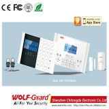 El sistema de alarma sin hilos de la seguridad del G/M SMS para los hogares, con Potencia-apagado informa a la función