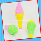 Caramelo musical del juguete del helado del bebé