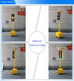 300mm mobile bewegliche Solar-LED Ampel der drei Geräten-Laufkatze-