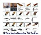 Laminate Flooring Perfiles finales PVC envuelto Wearable Foil