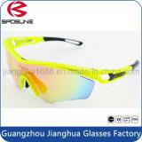 Gafas de sol Sporting polarizadas nave del béisbol del voleibol de la gota de los deportes al aire libre para los jinetes de la bici de la motocicleta