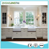 Pure White Quartz Stone Calacatta Quartzite Countertops for Kitchen