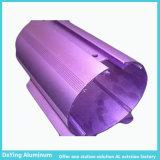 Metallo di alluminio della fabbrica che elabora l'espulsione eccellente dell'alluminio di trattamento di superficie