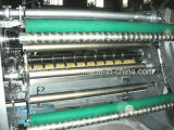 Controlado por ordenador de alta velocidad de la máquina automática de corte longitudinal y rebobinado del rollo