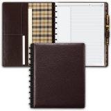 Cahier en cuir adapté aux besoins du client de cuir de journal intime de carnet d'unité centrale