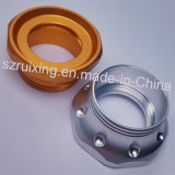 Precisie LED Flashlight Parts met CNC Machining