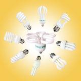 светильник вкладчика CFL энергии 18W T4 половинный спиральн с CE (BNFT4-HS-B)