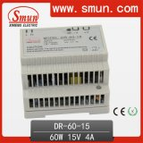 60W LÄRM Rail Switching Power Supply P.S. mit CER RoHS 2 Year Warranty 12V/24V48V