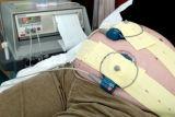 Fasce fetali non sterili libere del video di cuore del lattice