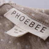 Phoebee Knitted Children Apparel SpringかAutumn Girl Dress