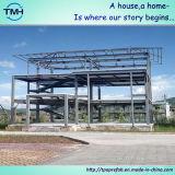 田舎の鉄骨構造のモジュラー家
