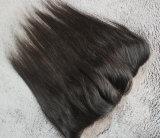 赤ん坊の毛を搭載するまっすぐな3部の人間の毛髪のレースのFrontal