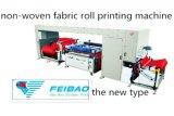 Un rullo automatico di due colori per rotolare la stampatrice non tessuta dello schermo del tessuto