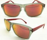 Gafas de sol plásticas de la manera con la lente de Revo