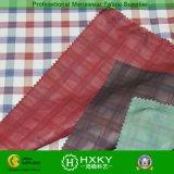 Tela teñida de los hilados de polyester con la capa doble para la chaqueta o la camisa