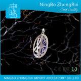 Pendente dei monili del Lazuli di Lapis dell'argento sterlina 925 e Earings Serie di bambù 1