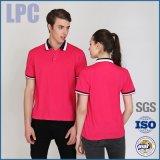 Vestiti di Custom Company per la camicia di polo del cotone donne/degli uomini