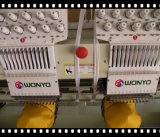 Wy1208c computergesteuerte Stickerei-Maschine, 8 Köpfe 9/12/15 Farben-Handelsstickerei-Maschine