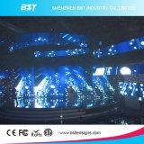 Afficheur LED P4.81 de location d'intérieur polychrome