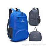 Qualitäts-faltbarer schwarzer Rucksack mit Schultern für Erwachsenen