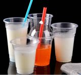 PlastikClear Cups mit Hole Dome Lids und Bubble Tea Straws