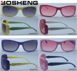 Projeto novo óculos de sol modernos de vidro personalizados da forma do projeto