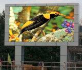 Publicidad multicolora impermeable al aire libre de la cartelera de P10 LED Digitaces