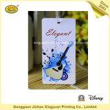 Напечатанный стикер бумаги ярлыка для гитары (JHXY-HT0013)