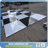 3 ' танцевальная площадка платформы зерна x 3 ' деревянная с алюминиевым краем