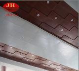 El panel de la fachada del grano de madera/tarjeta de aluminio interiores del techo de los materiales de la construcción de edificios
